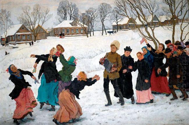 The Dance Of The Matchmakers Ligachevo 1912