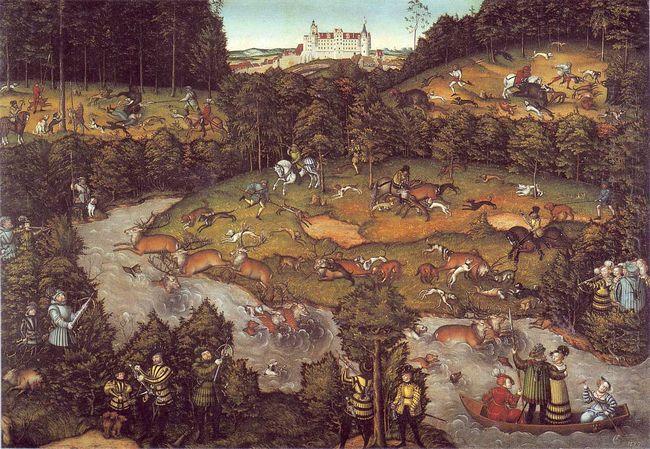The Deer Hunting 1540