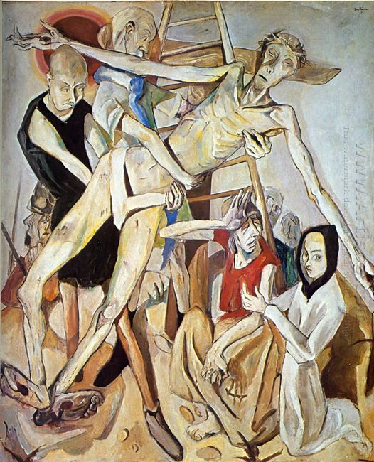 The Descent From The Cross 1917