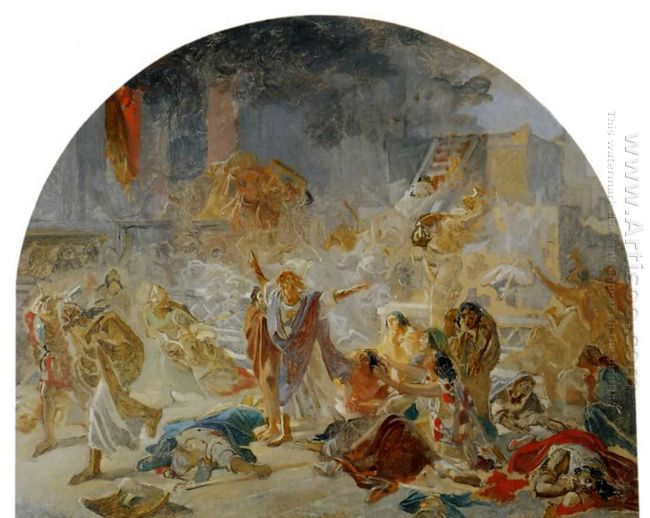 The Destruction Of The Temple In Jerusalem
