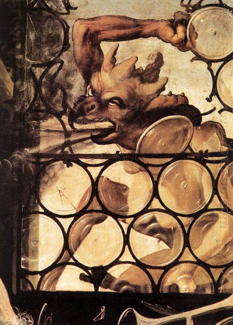 The Devil Attacking The Window Detail From St Anthony The Hermit