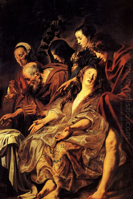 The Disciples At The Tomb 1625