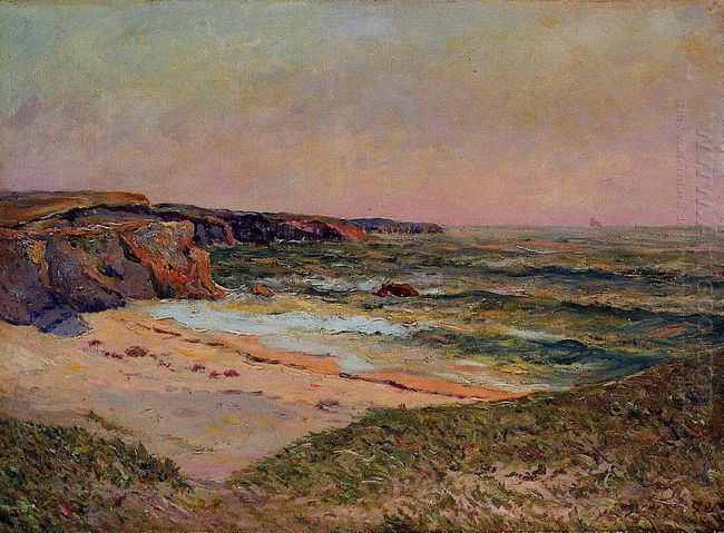 The Dunes Of Port Blanc Near Ile De Quiberon 1908
