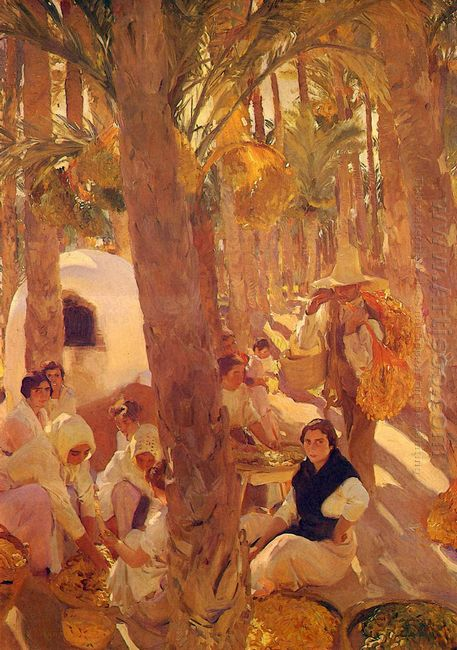 The Elche Palm Grove 1918