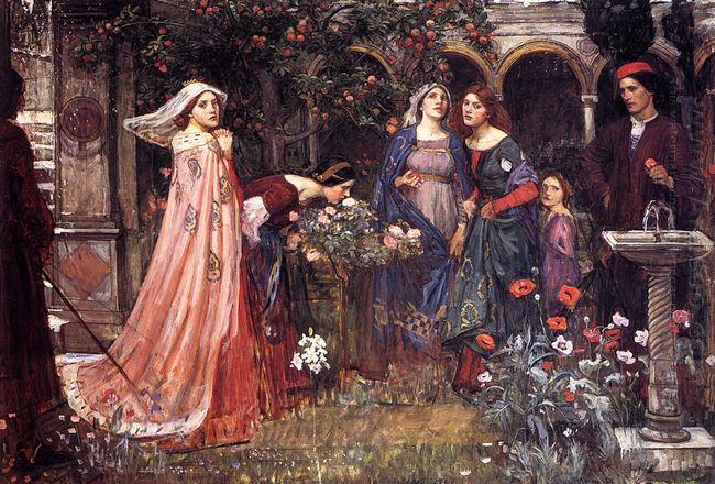 The Enchanted Garden 1917