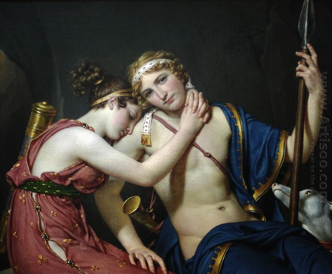 The Farewell Of Telemachus And Eucharis 1818