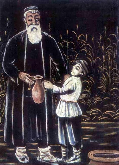 The Farmer And His Grandson 1908