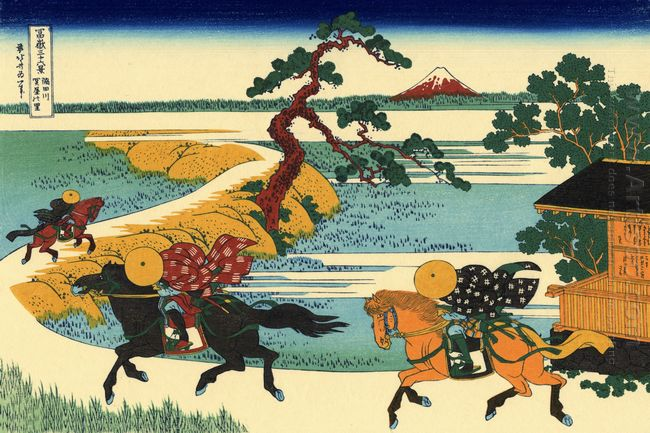 The Fields Of Sekiya By The Sumida River 1831
