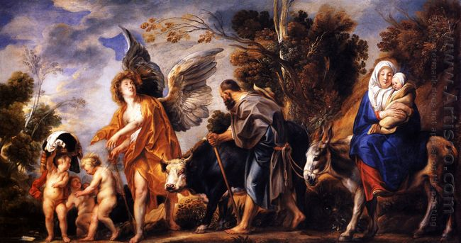The Flight Into Egypt 1641