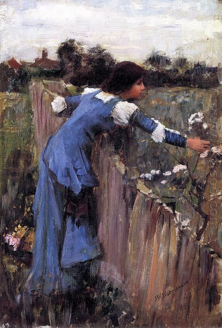 The Flower Picker 1895