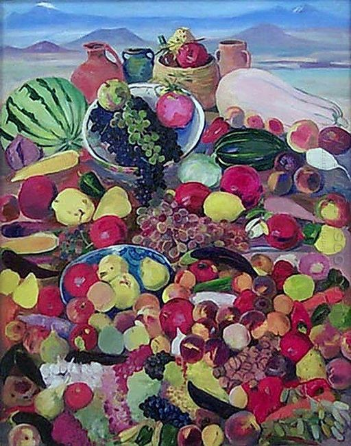 The Fruits From Rocky Slopes Of Aragats 1958