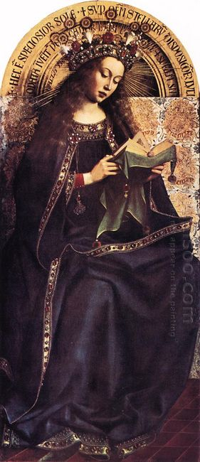 The Ghent Altarpiece The Virgin Mary 1429