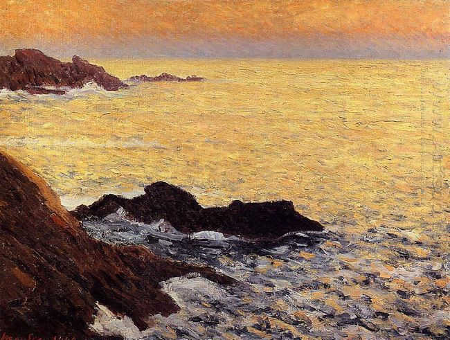 The Golden Sea Quiberon 1900