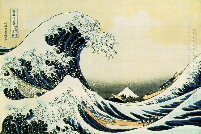 The Great Wave Of Kanagawa 1831