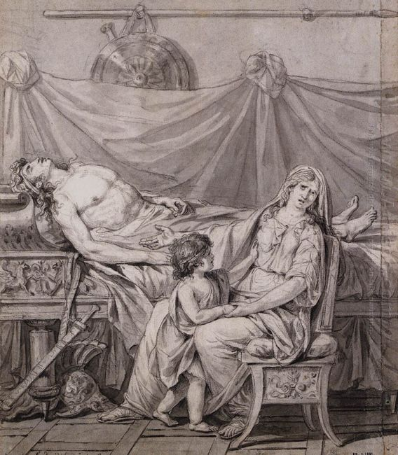 The Grief Of Andromache 1782