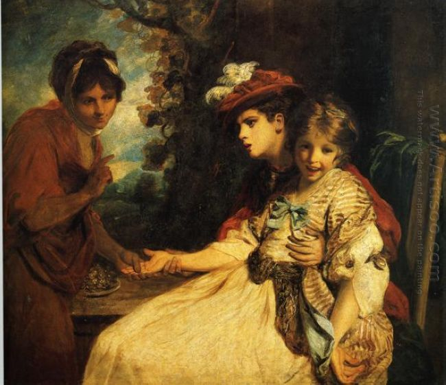 The Gypsy Fortune Teller 1778