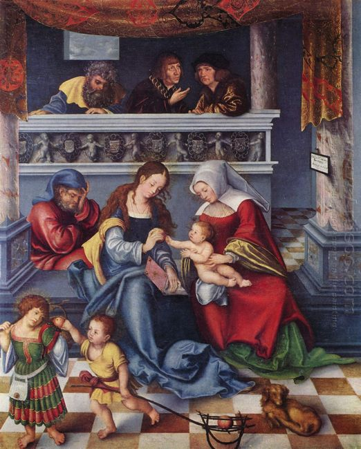 The Holy Family 1509 1