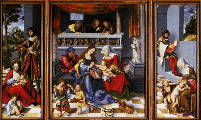 The Holy Family 1509