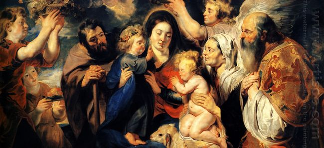 The Holy Family And Child St John The Baptist