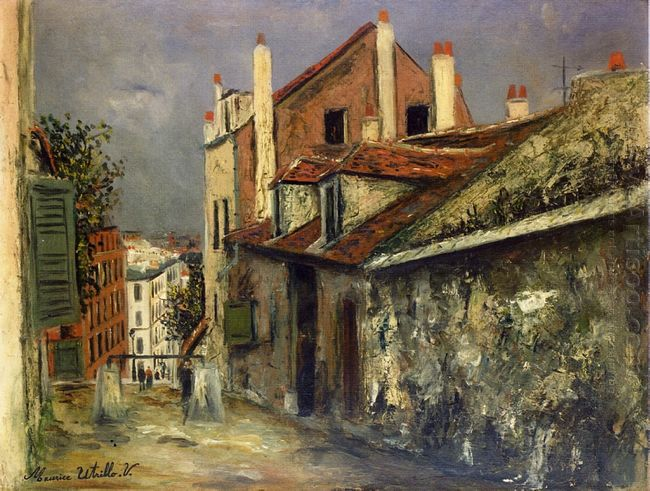The House Of Mimi Pinson In Montmartre
