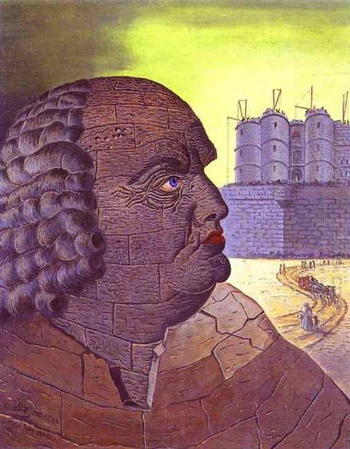 The Imaginary Portrait Of The Marquis De Sade