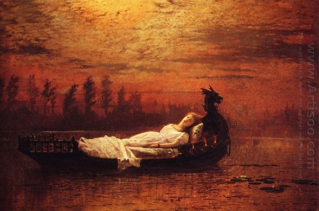 The Lady Of Shalott 1878