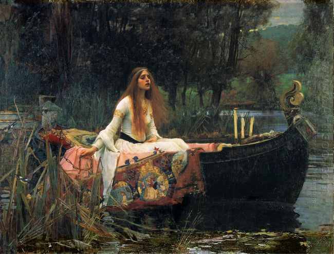 The Lady Of Shalott 1888