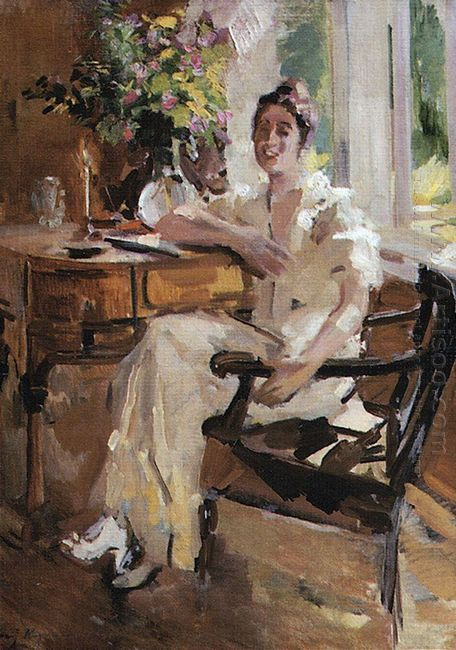 The Lady On The Chair 1917