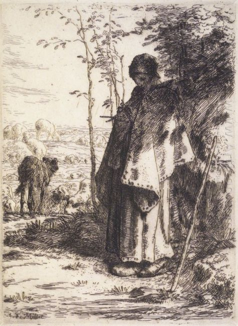 The Large Shepherdess