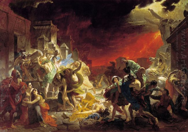 The Last Day Of Pompeii 1833