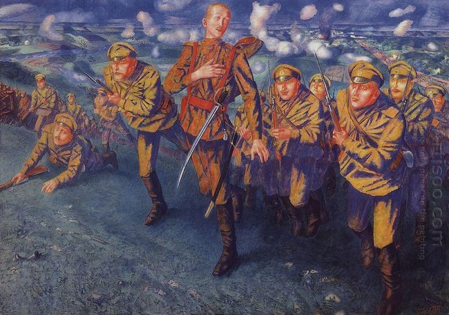 The Line Of Fire 1916