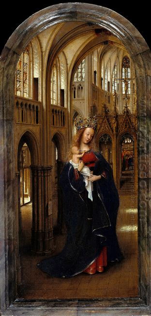 The Madonna In The Church 1439