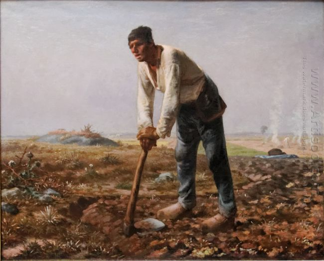 The Man With The Hoe 1862
