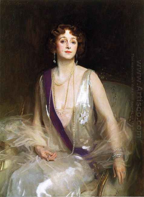 The Marchioness Curzon Of Kedleston 1925