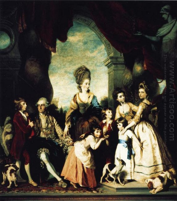 The Marlborough Family 1778
