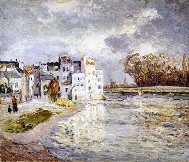 The Marne At Lagny