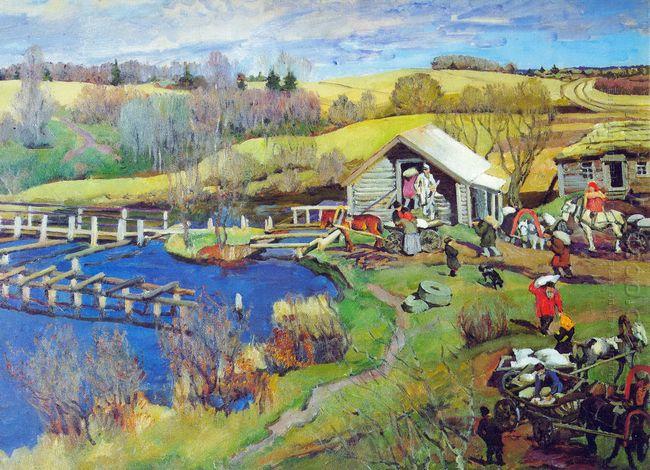 The Mill October Ligachevo 1913