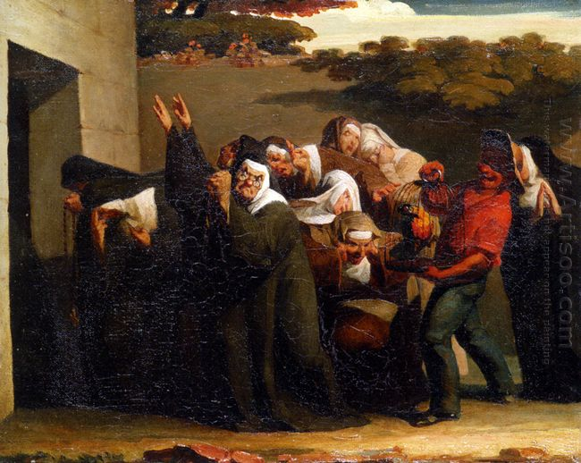 The Nun S Parrot 1840