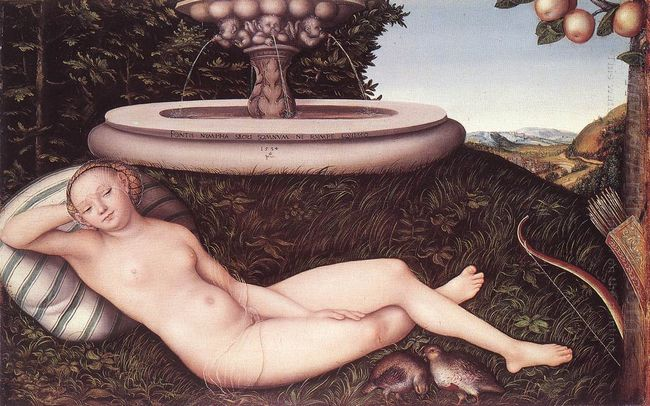 The Nymph Of The Fountain 1534