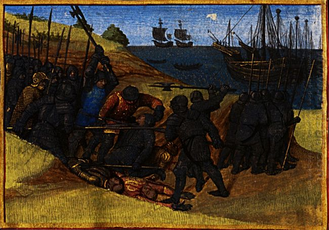 Theodoric Victory Over The Danes 1460