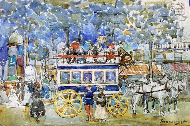 The Paris Omnibus 1904