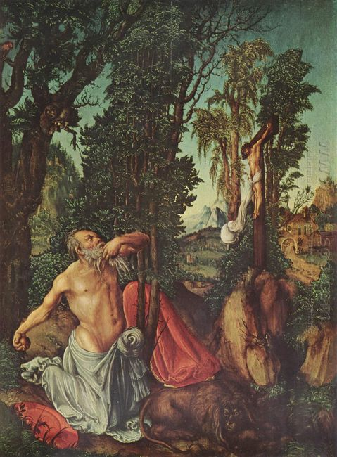 The Penitence Of St Jerome 1502