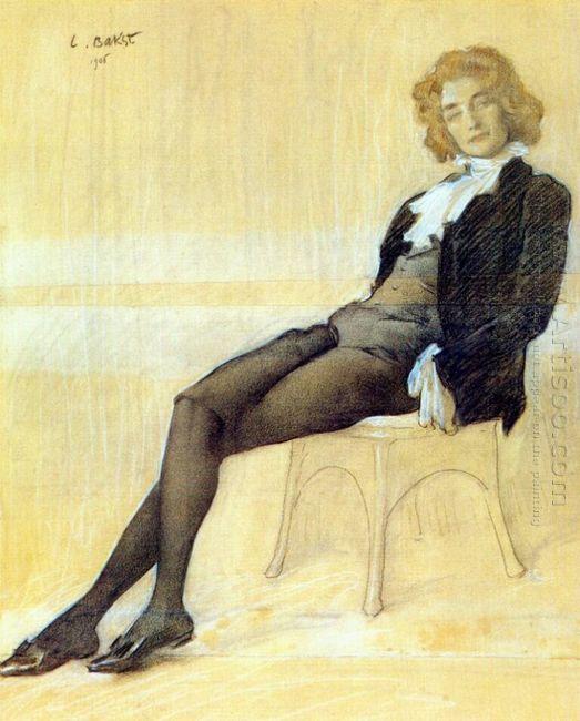 The Poet Zinaida Gippius 1906