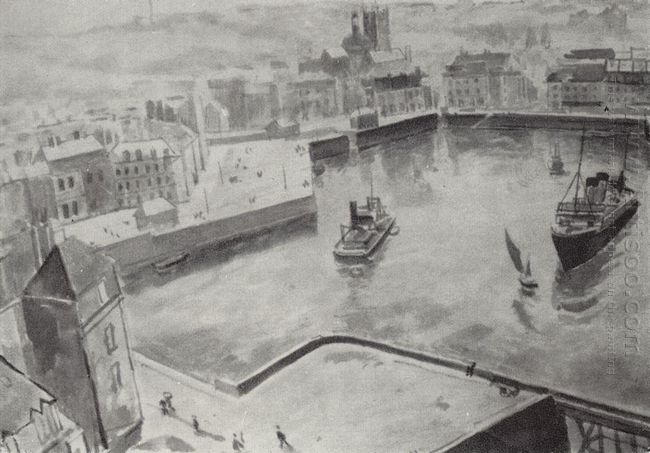 The Port Of Dieppe 1929