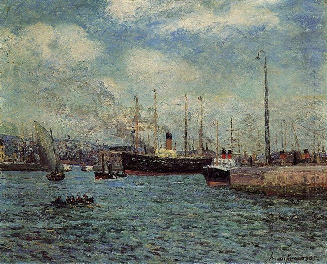 The Port Of Havre 1905