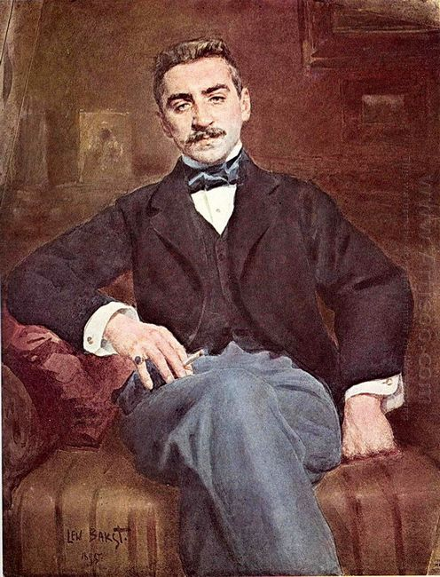 The Portrait Of Walter Fedorovich Nuvel