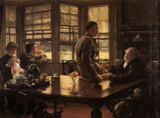 The Prodigal Son In Modern Life The Departure 1880