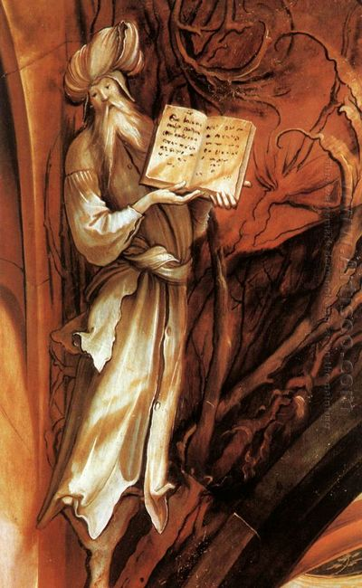 The Prophet Isaiah Detail From The Isenheim Altarpiece