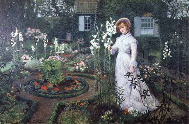 The Rector S Garden Queen Of The Lilies 1877