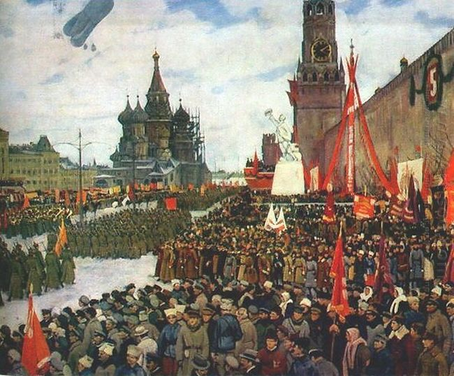 The Red Army Parade 1923